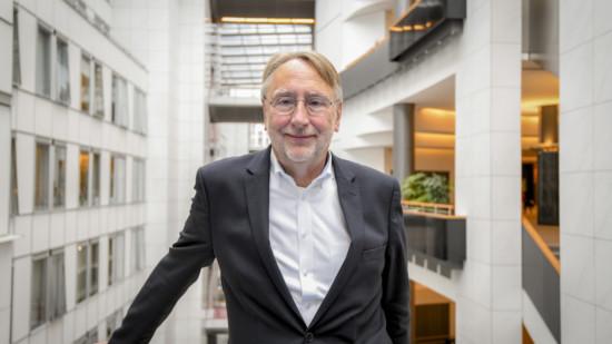Foto von Bernd Lange im Europäischen Parlament